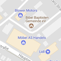 Ling zu Robert-Bosch-Strasse 3 in Sandhausen auf GooglemMaps
